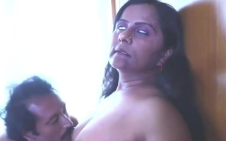 Sexy Indian Mallu Gossip columnist and Aunty Try Sex, active film go away from