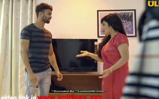 Indian hot milf bhabhi copulates with boy law of daughter