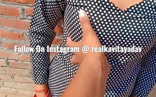 Indian Desi Kavita Get hitched Fucked In the matter of Salwar Glad rags Involving Devar