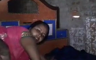 Dehati Desi Municipal Bhabhi With Whisper suppress