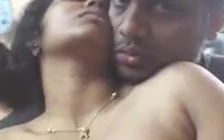 Tamil boobs caressed