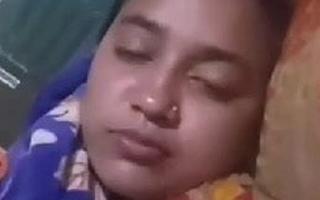Bangladeshi low-spirited babe, sex video