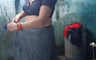 Desi aunty ablution