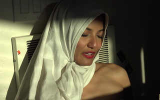 Beautiful Eyes, White Hijab, Viva Athena, Arab Girl Unveils