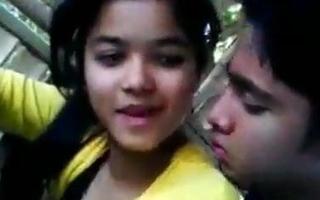 Indian girlfriend and boyfriend