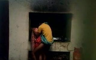 Village Bengali Boudi getting fucked in Kitchen