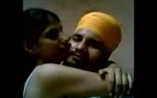 Desi punjabi couple having romantic time