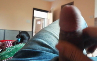 My First Dick flashing  in hotel, indoors