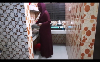 Muslim angel of mercy in law kitchen fuck to brother in law p-1