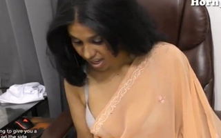Indian Sex Teacher Lily has Roleplay Masturbation sex