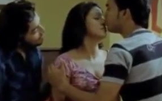 Indian short film, hot threesome sexual connection