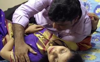 Young wife has affair, saree dealings