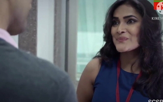 Sexy cute and perfect desi boss wants to fianc' with colleague