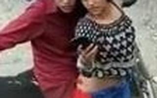 Desi Indian girl having Doggystyle sexual intercourse outdoors