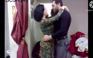 Sexy and sexy Muslim wife screwed by her bf