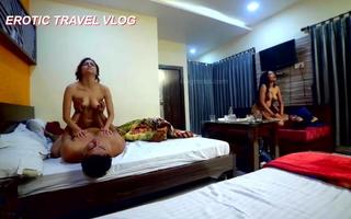 Travel blog 3 - hot foursome sex