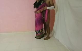 Beautiful hot sexy bhabhi and dewar fuck
