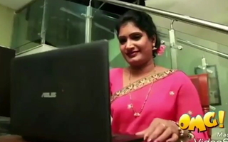 South Indian mallu aunty has fling with husband's brother