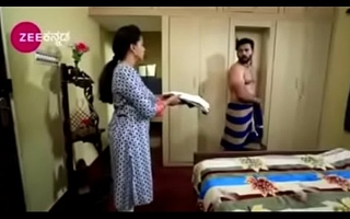 South Indian TV actor interdicted nude up underwear up a TV show