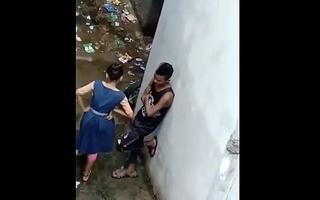 Indian School Girl Secluded In Backside