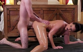 NuruMassage India Summer Rewards The Teen Neighbor With A Dirty Body Kneading For His Help