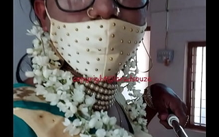 Indian crossdresser model Lara D'Souza saree video 4