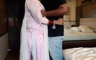 Fucking his best friend's nurturer in a hotel