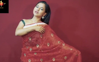 Tina Nandi, Saree Model Buccaneering Fully Naked