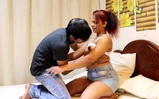 indian couple Sunny and Sonia have a go hardcore sex yon bedroom