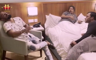 FALGUNI Bhabhi ko hotel me bhula kar dono bhaiyo ne choda