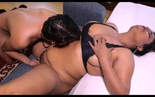 aunty cum-hole Licking