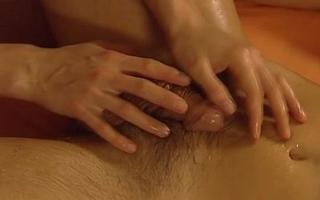 Handjob plus Massage is Great