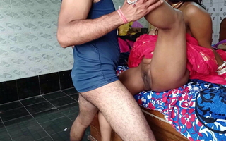 adulate and mating in Lehenga with a married nurse in a hospital