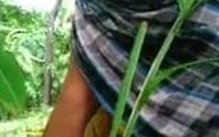 Desi Tamil girlfriend Shagging outdoors With Her boyfriend 26