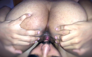 He Was Misbehaving So I Made Him Eat My Cum-hole - NoFaceIndian