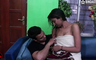 Indian couple having game