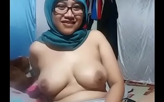 Beautiful Asian girl fingering