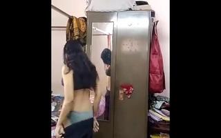 Indian girl masturbating at home when alone