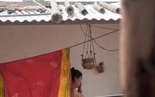 Desi real mature aunty bathing 100%