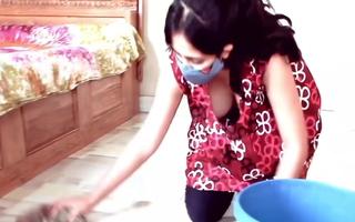 Kannada girl cleansing boobs sisterly
