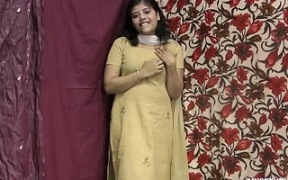 Rupali Indian Wholesale In Shalwar Suit Stripping Shtick