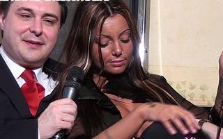 Mistress Godiva ballbusts a slave for Andrea Dipr&egrave_