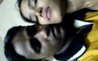 Desi virgin girl Jinitha getting fucked by her lover guy scandal video