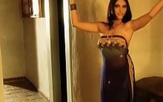 Bollywood Indian Mummy Blinking Nude