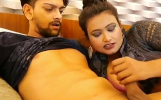 Indian hot aunty fucking with young boy with obese boobs