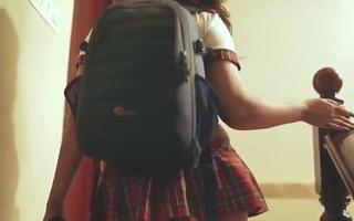 Desi Bhabhi College Girl Has Cosplay Sex respecting Hindi – Big Ass
