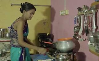Indian Low-spirited Bhabhi ki Dhoodh Bali Chai