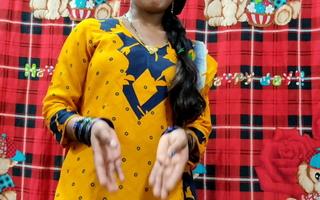 Indian beautiful Punjabi girl has fast sex hither devar
