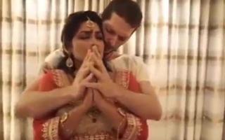 sexy Indian goddess Kameswari is worshipped