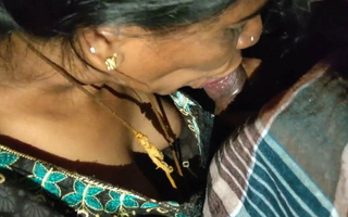Desi Aunty Successful Hot Irrumation to Uncle